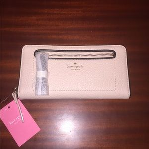 Kate Spade Leather Chester Street  Wallet
